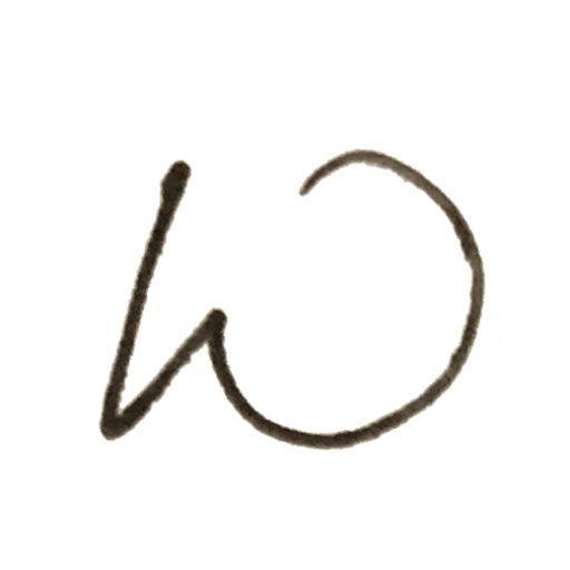 Hand drawn W favicon