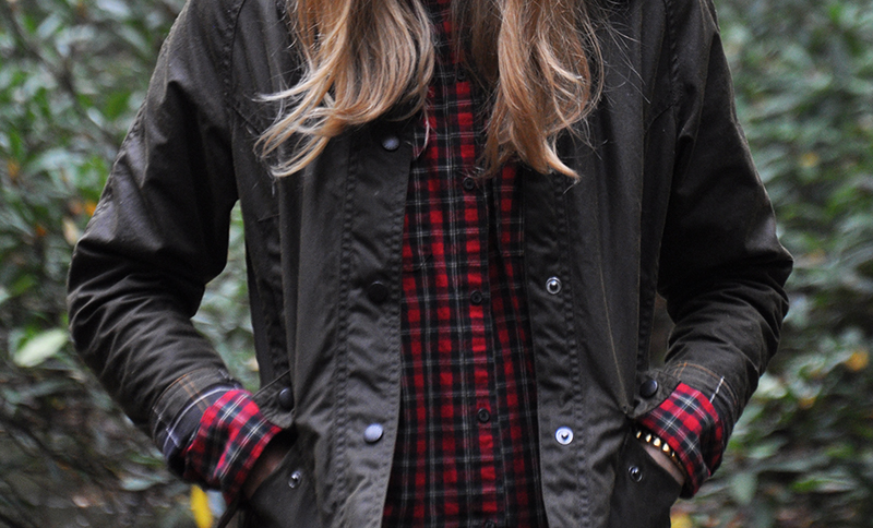 "Girl's large Barbour Beadnell review (not just for girls! I'm 5'7"" and this fits)"